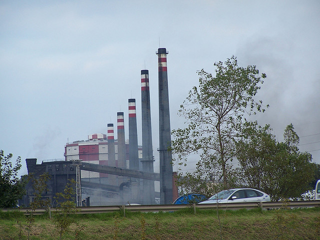 humo ensidesa industria