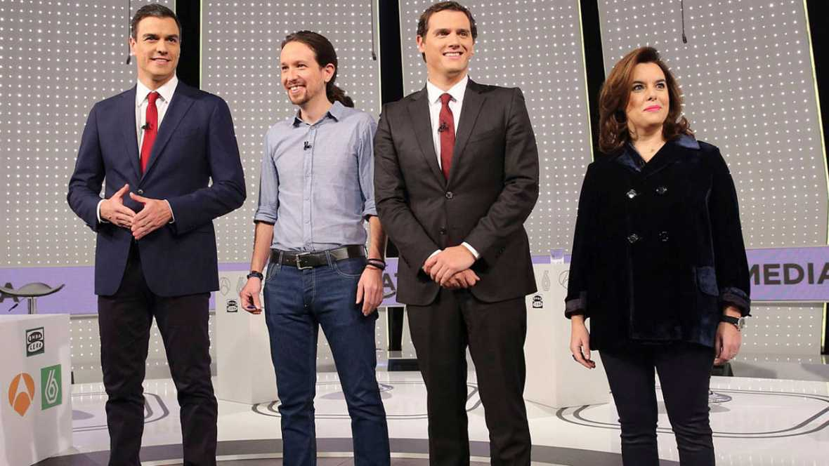debate a 4 Atresmedia-RTVE