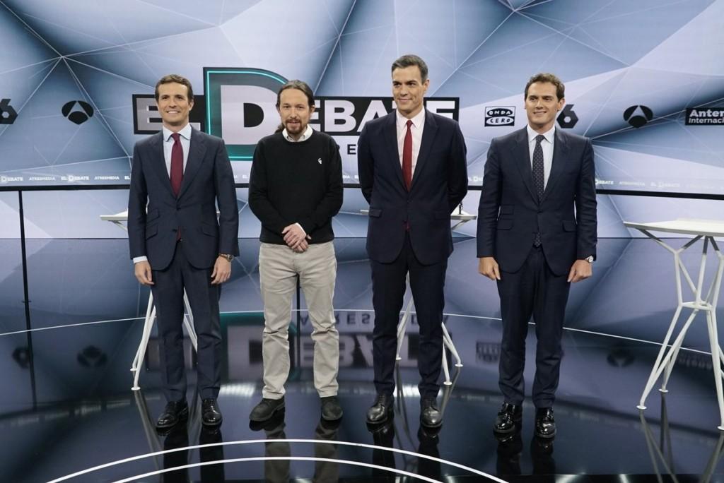 debate electoral atresmedia 23-4-2019