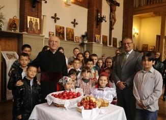 angel fermosel,rumanos,madrid,inmigrante,comunidad,pascua,ortodoxa