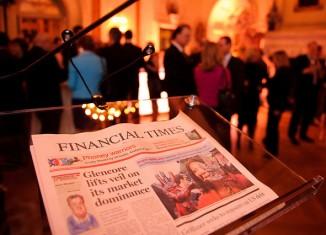 financial times,ejemplar,portada