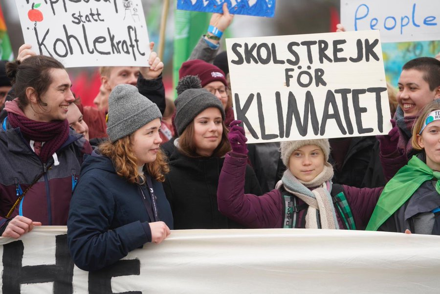 fridays for future greta thunberg