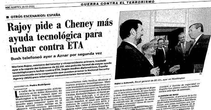 Diario ABC 16-10-2001