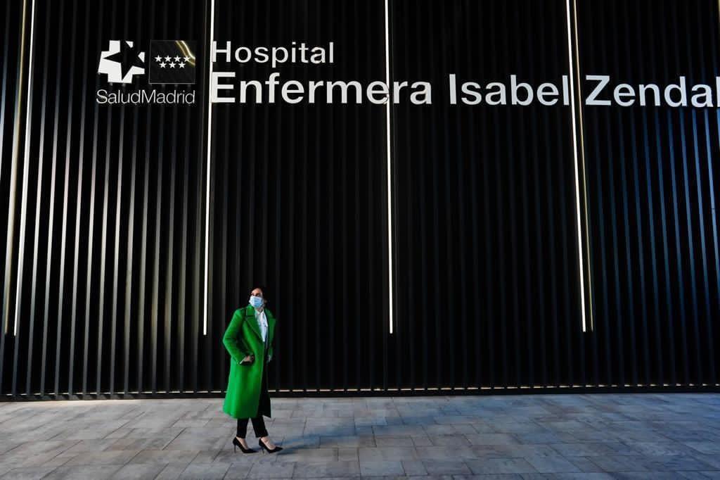 inauguracion hospital isabel Zendal Isabel Diaz Ayuso