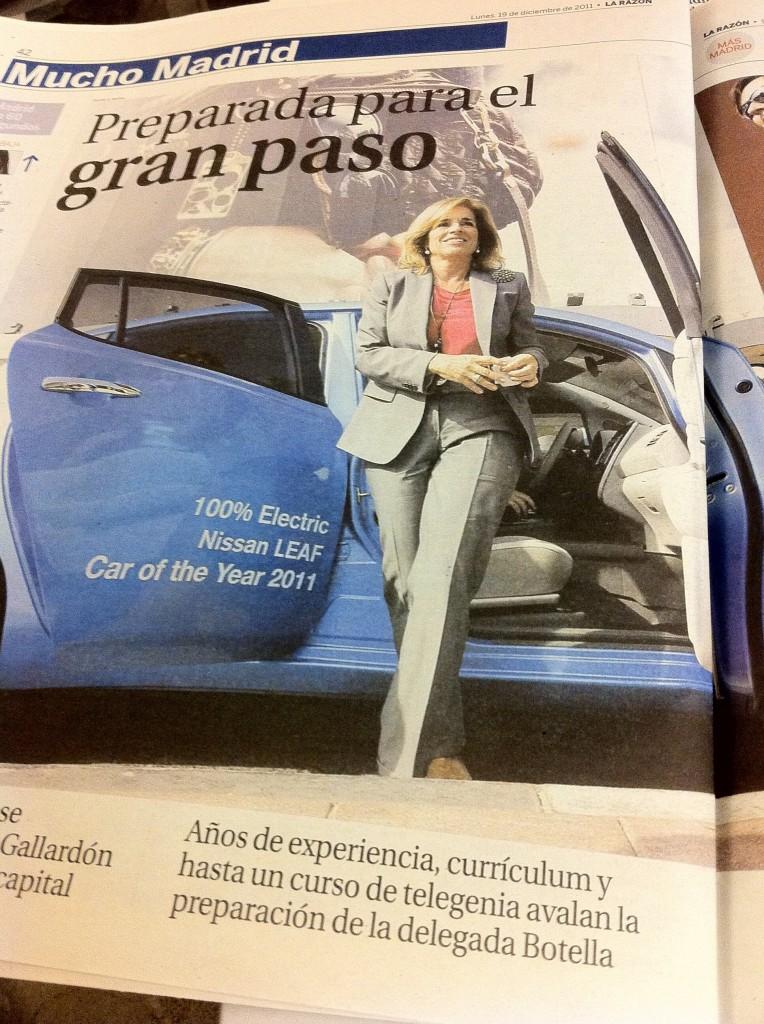 Ana Botella en La Razón