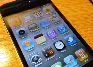 móvil apple iconos