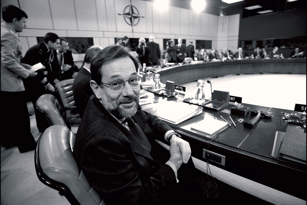 Javier Solana. Foto OTAN / Flickr
