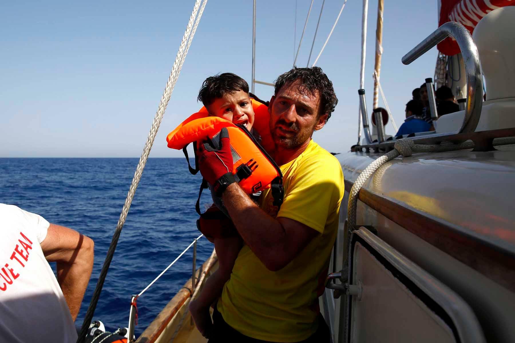Oscar Camps Proactiva en LaCafeteraEuropaIndigna