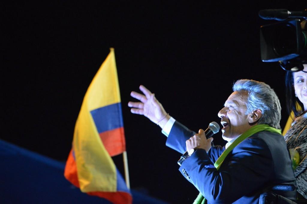 lenin moreno elecciones ecuador abril 2017