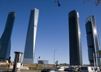 madrid,cuatro,torres,business,center,castellana