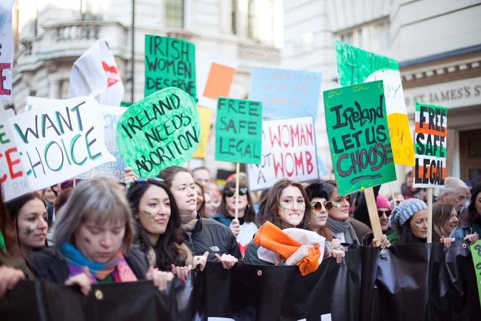 manifestacion aborto irlanda amnistia internacional