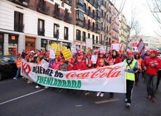 marcha,ere,despido,cocacola,protesta,cierre,farbica