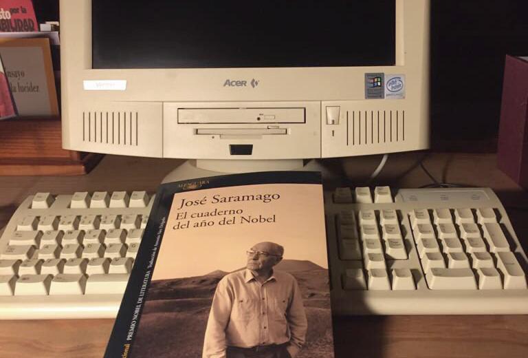 ordenador saramago el cuaderno del nobel