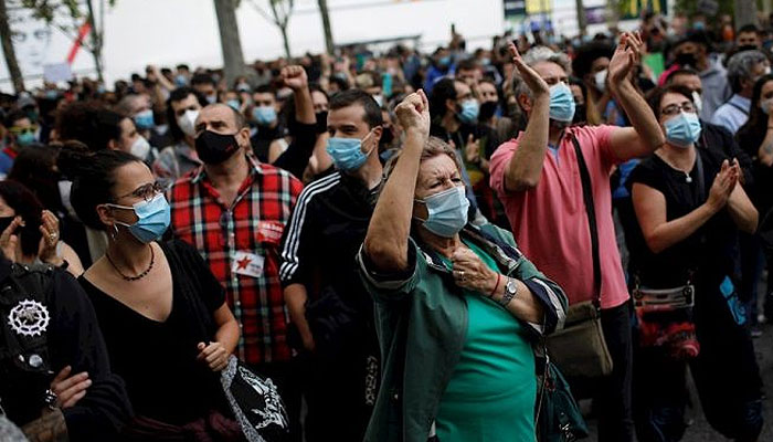 protesta-madrid-confina-mascarilla