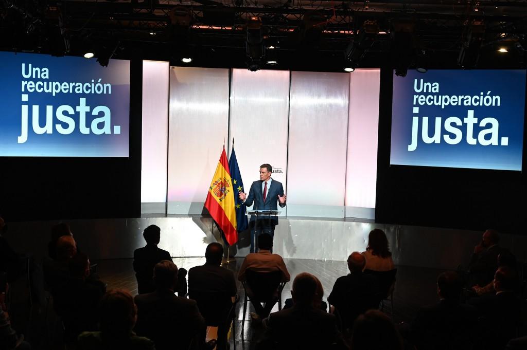 recuperacion justa acto Pedro Sanchez