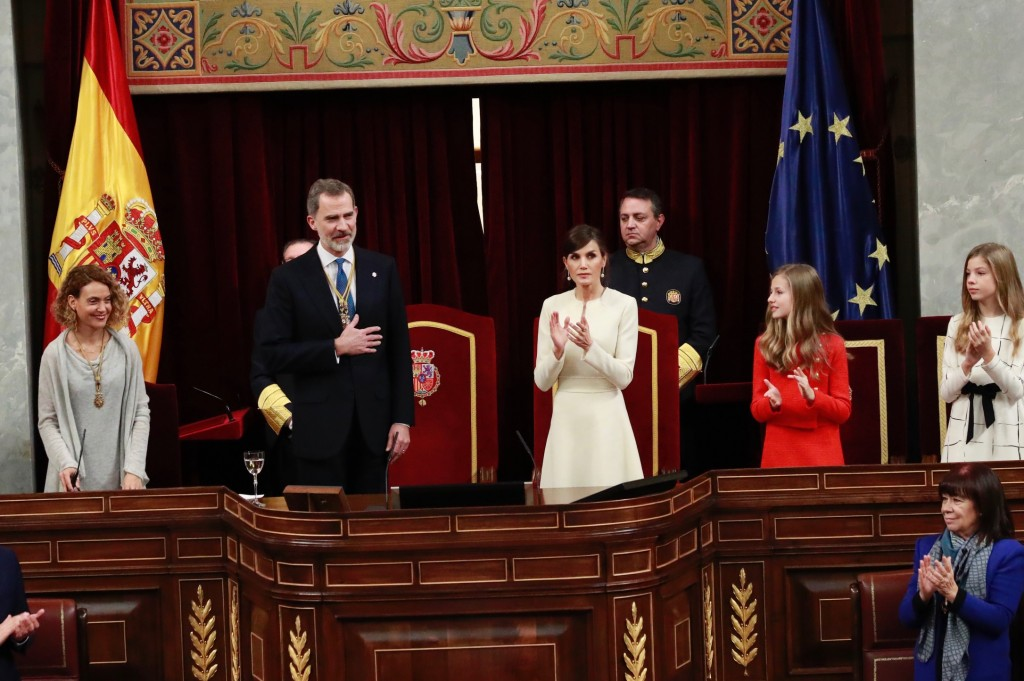 rey apertura legislatura