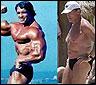 Schwarzenegger antes y ahora