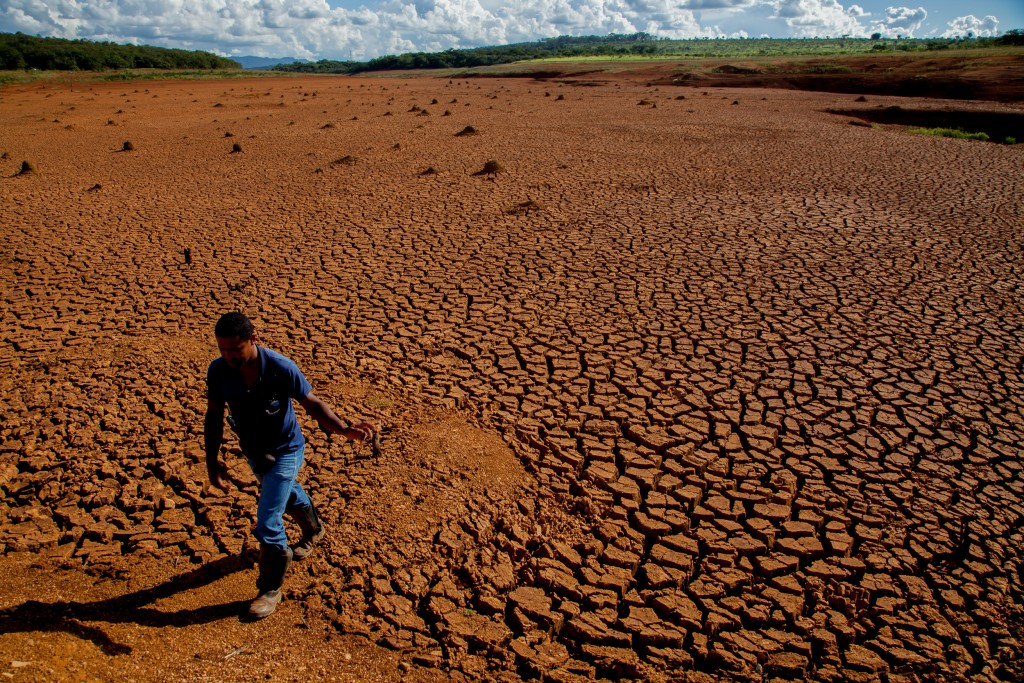 Dried Out Land in Brazil