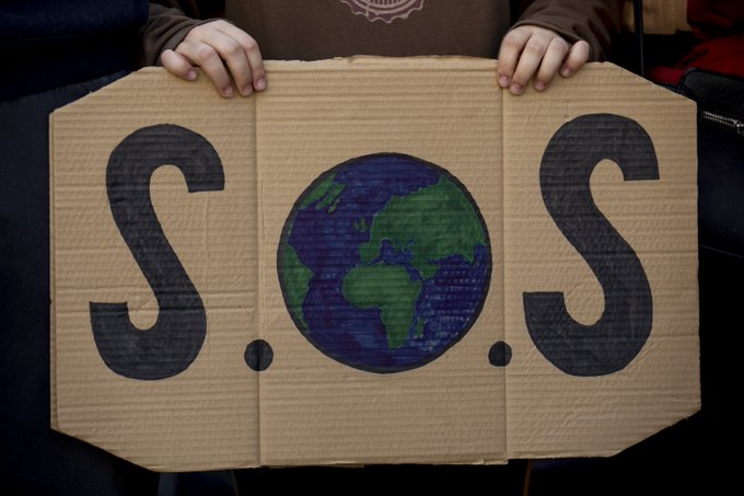 sos panet fridays for future madrid crisis clima