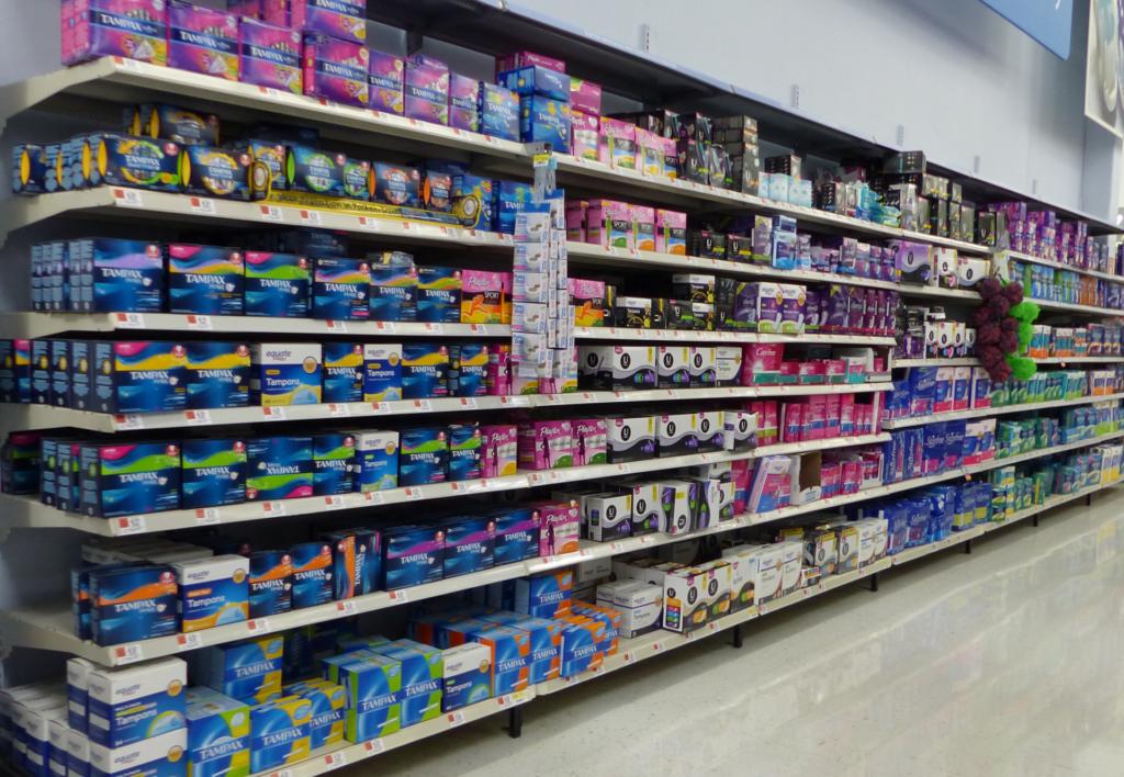tampax compresas productos menstruacion wikipedia