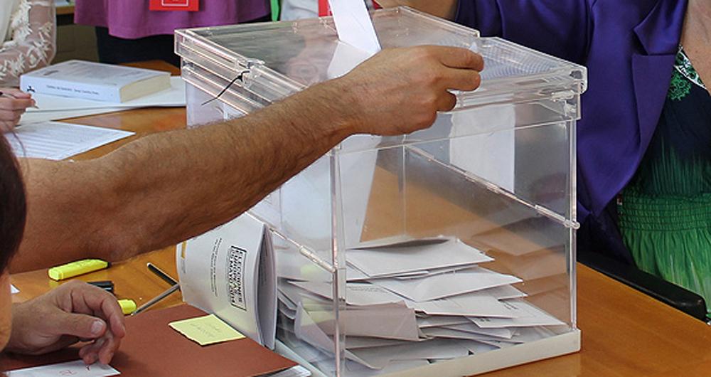 voto urna-