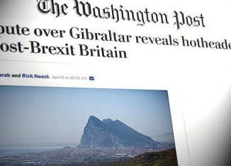 washington post exaltacion disputa gibraltar