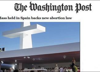 washington post,misa,familia,apoya,aborto,restriccion,nueva,ley,dura,rouco